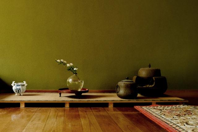 境田亜希のはなかげ花器とコデマリ