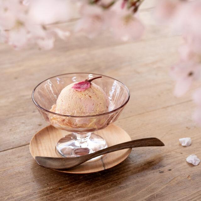 桜アイスクリーム 境田亜希 はなかげ
